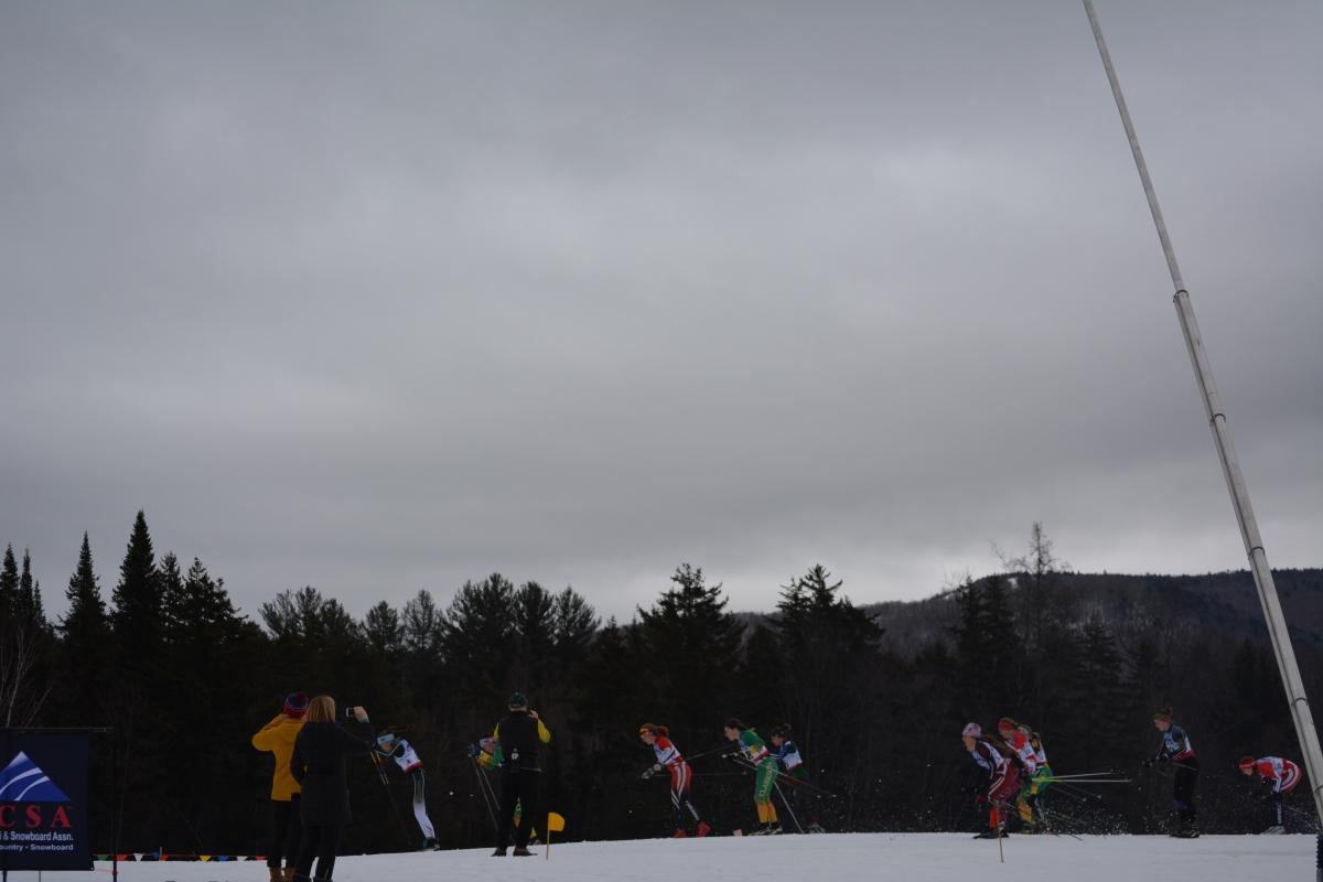 Women's 15k start